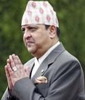 King Gyanendra of Nepal