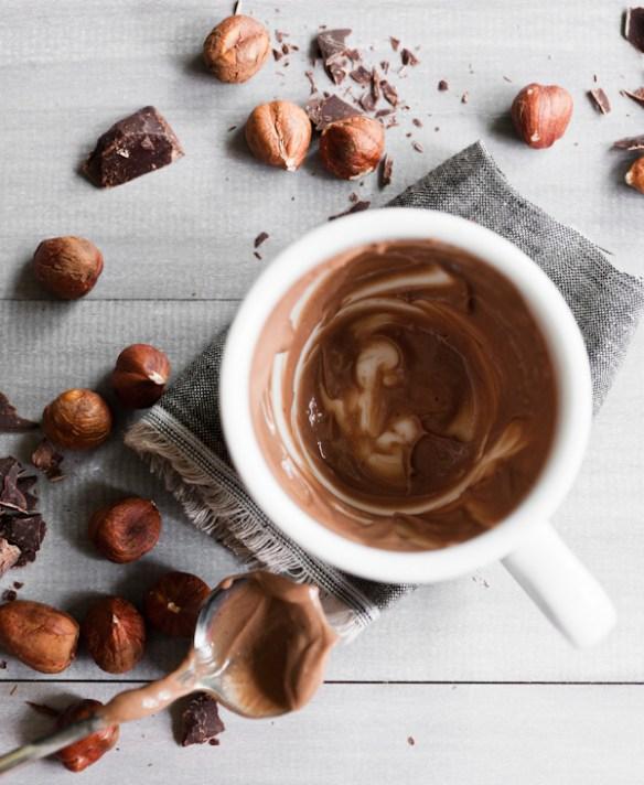 Gluten-free treat with hazelnuts and chocolate