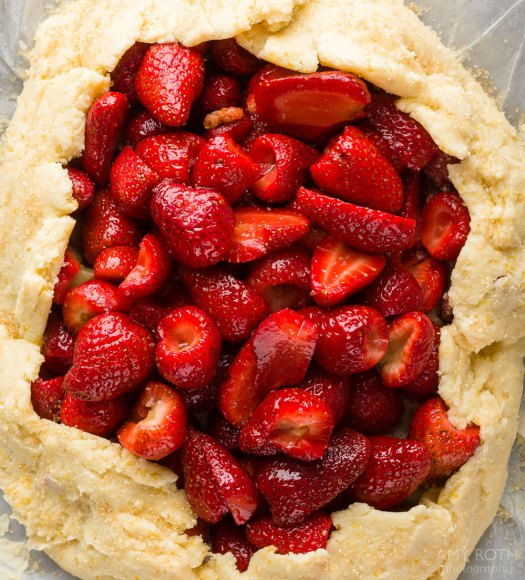 Gluten-Free Strawberry Galette at Minimally Invasive