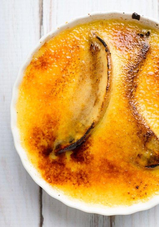 Banana Crème Brûlée | Minimally Invasive