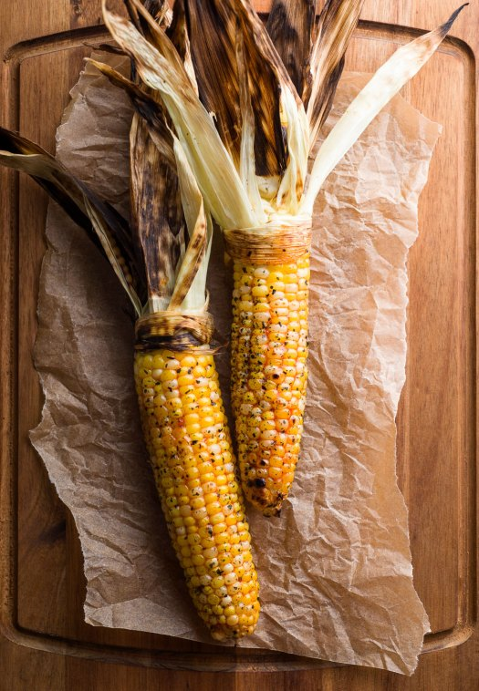 Grilled Corn with Gochujang Butter | Minimally Invasive