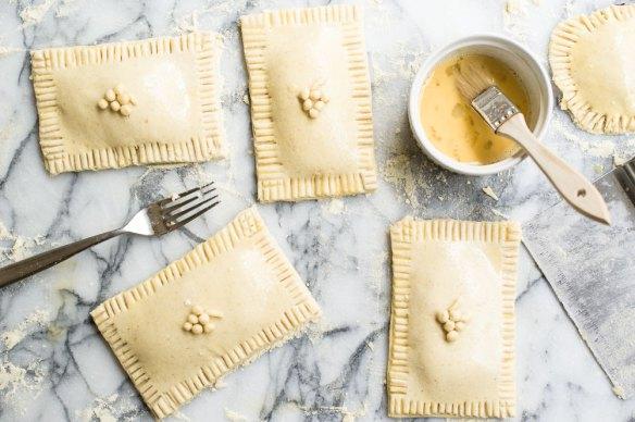 Concord Grape Hand Pies | Minimally Invasive