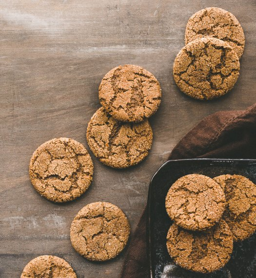GF Molasses Spice Cookies | Minimally Invasive