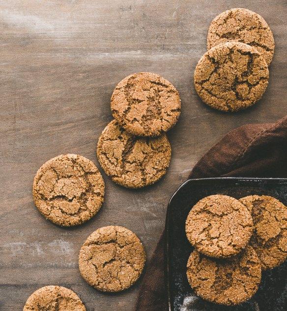 GF Molasses Spice Cookies | Minimally Invasive