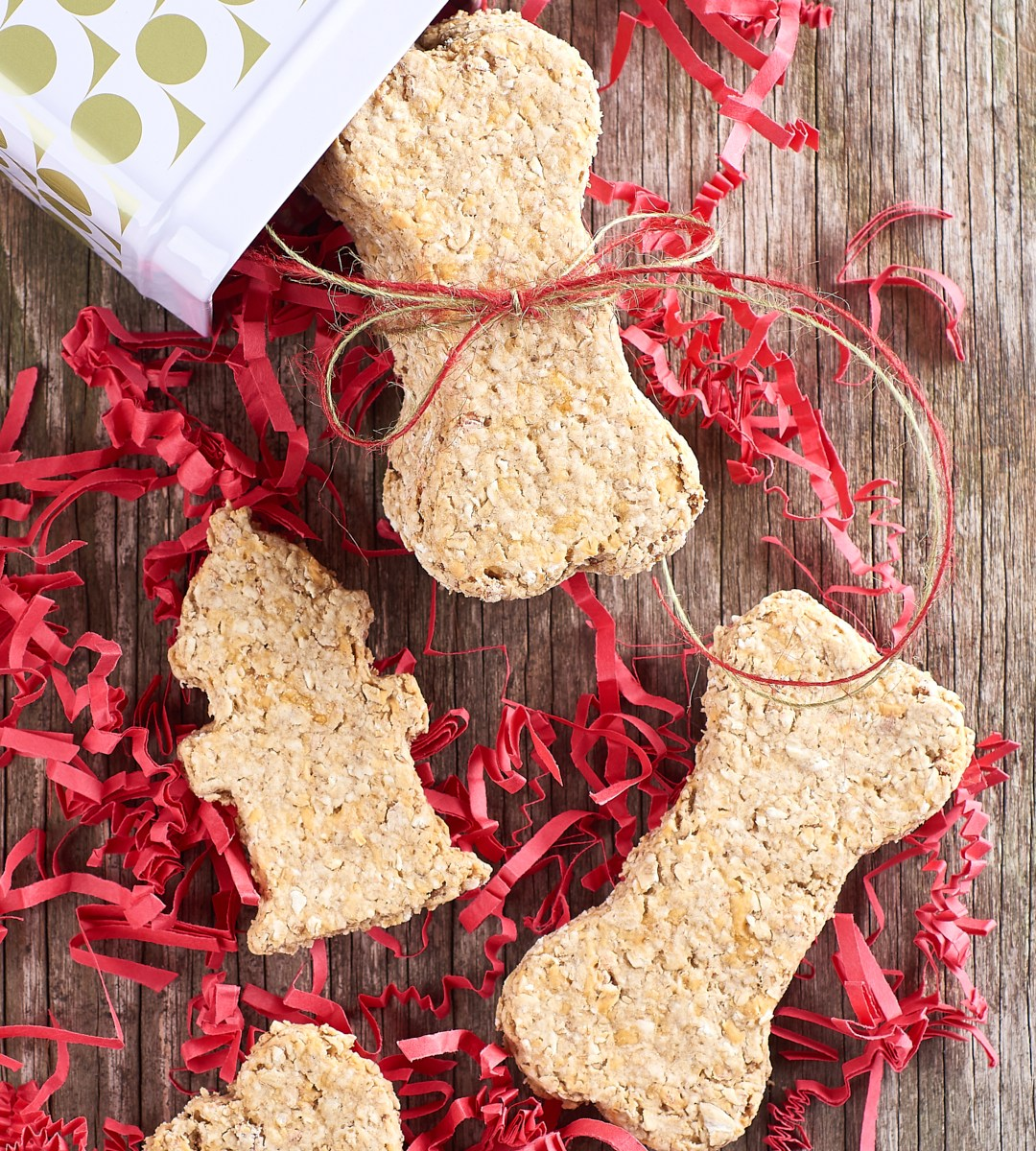 Crunchy Cheddar-Bacon Dog Treats