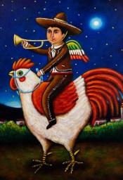 'Carrito Angel con Gallo'