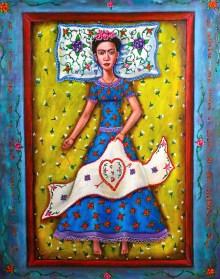 'Frida Bordando el Corazon'