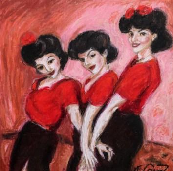 'Bianca & Zoot Suit Dancers'