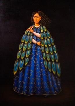 'Mujer-con-Pajaro'