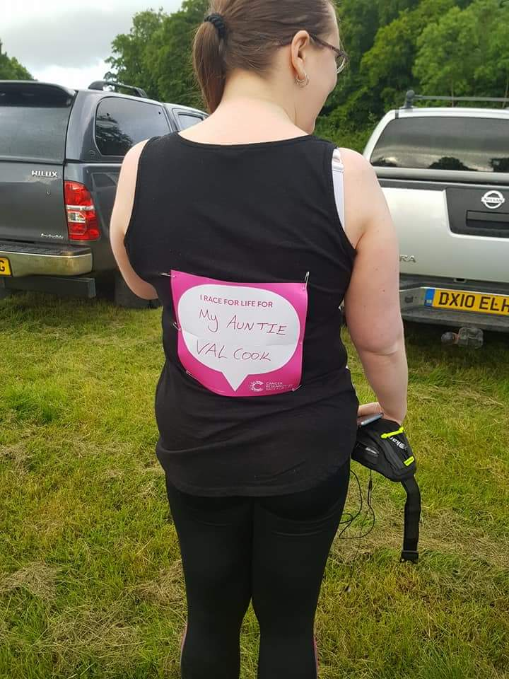 Post race thoughts from my first Race4Life