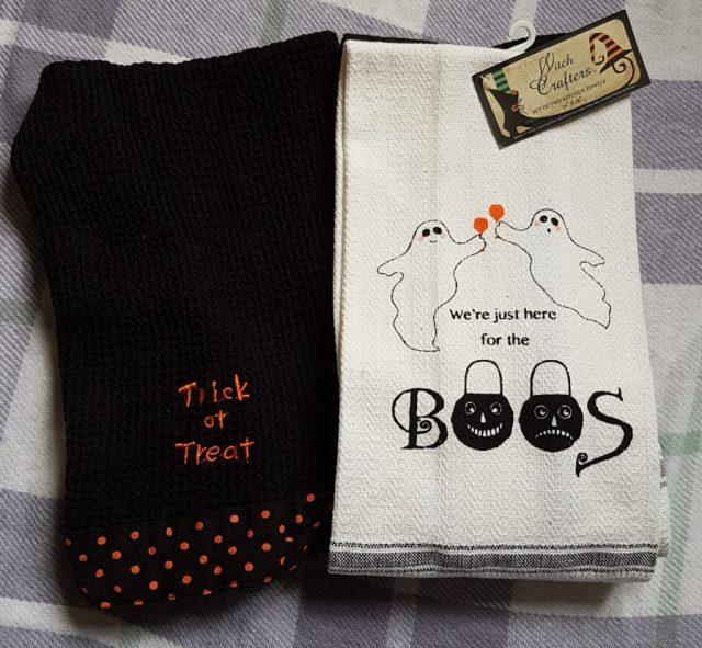 Halloween Tea Towels - TK Maxx