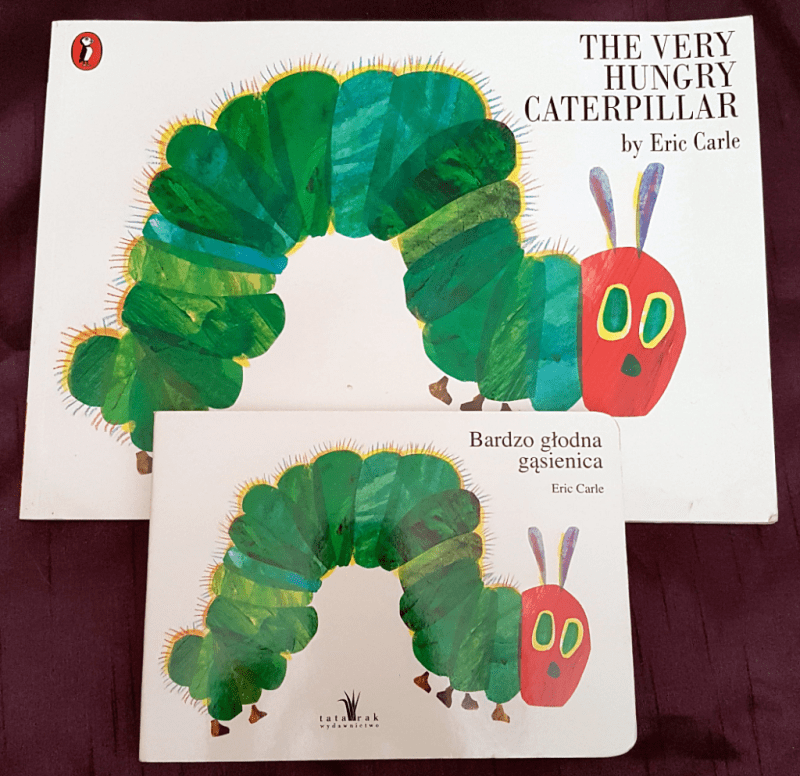 The Very Hungry Caterpillar books