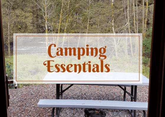 Camping Essentials*