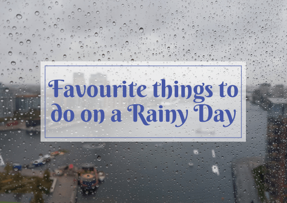 let's cuddle on a rainy day, watch old