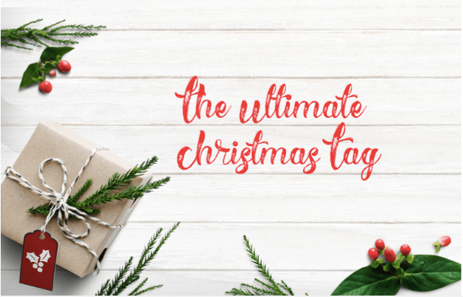 The Ultimate Christmas Tag