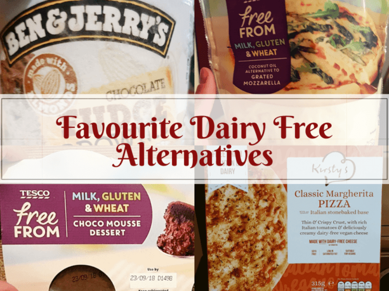 Favourite dairy free alternatives