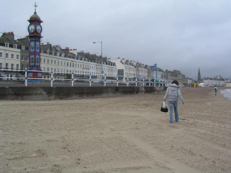 21st birthday stroll along Weymouth beach