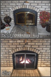 Fireplaces, Stoves & Inserts - Green Bay WI - The Chimney Guy