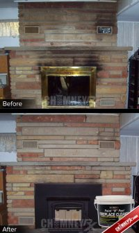 Cleaning Soot Off Fireplace Brick. Clean Marble Fireplace ...