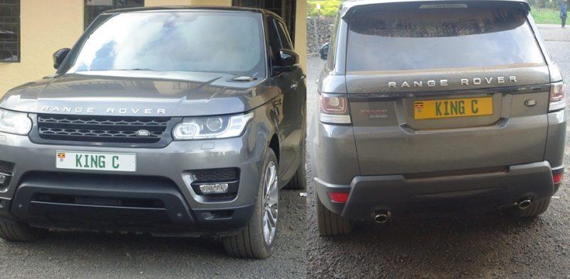King Mulenga's Range Rover