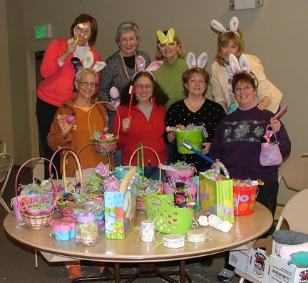 Easter Enrichment making crew in Seattle