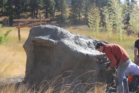 treat rock in construction