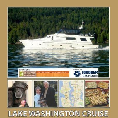 lake washington cruise for Chimpanzee Sanctuary NW