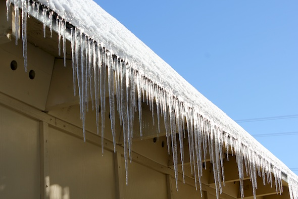 web icicles on building IMG_1586