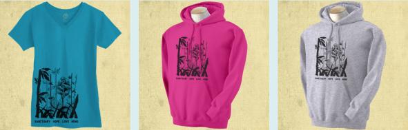 hoodies and shirt