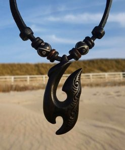 Holzkette Hei Matau Herrenkette