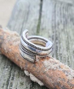 Handgefertig Dänischen Besteck Ring