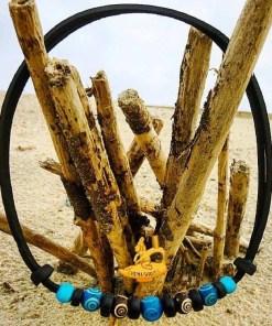 Surferhalkette Indianer Lederhalskette Lederhalsband