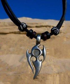 Lederkette Surfer Tribalkette Herrenkette
