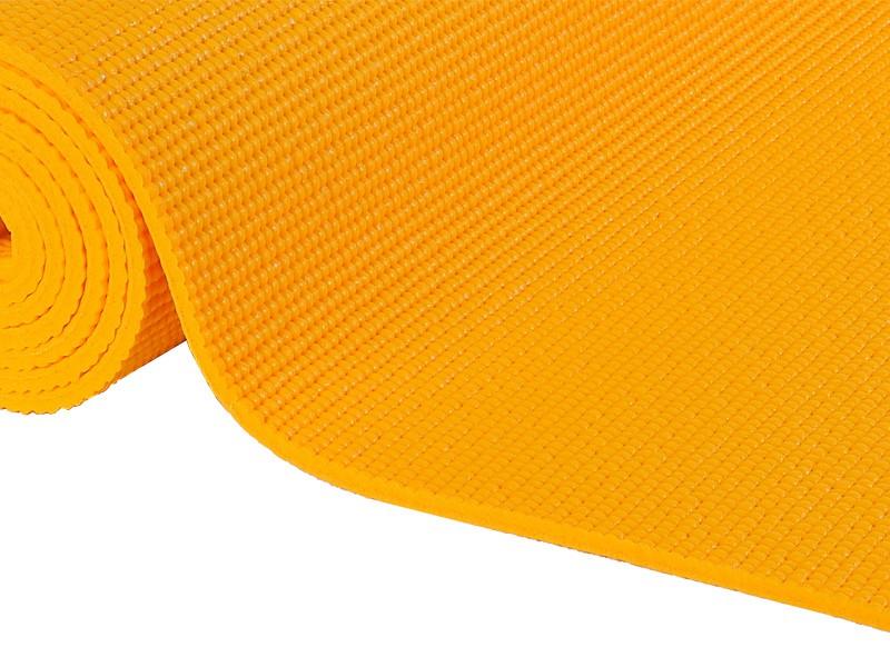 tapis de yoga non toxiques 183cm x 61cm x 4 5mm safran