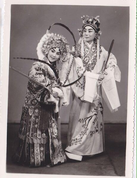 Pekingoper-damals
