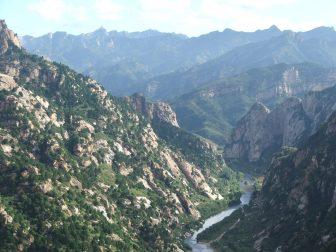 Bai River Canyon