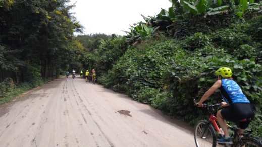cycling out of ganlanba