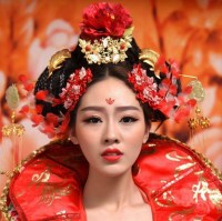 Ancient Chinese Wedding Empress Hair Accessories