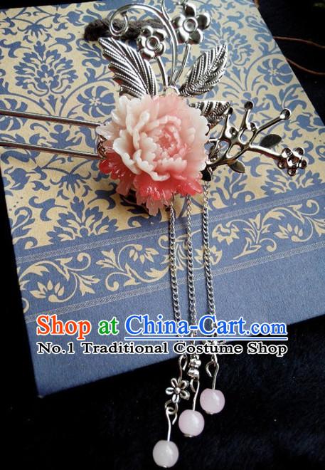 Handmade Chinese Hair Accessories Barrettes Hairpin Hair