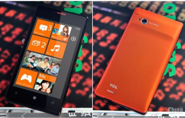 TCL S606 - бюджетный Windows Phone от TCL