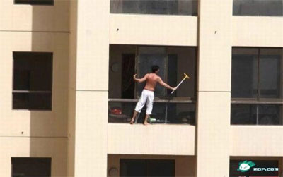 Chinese window washer