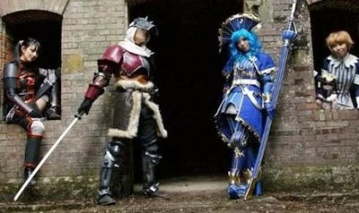Chinese super heroines Cosplay