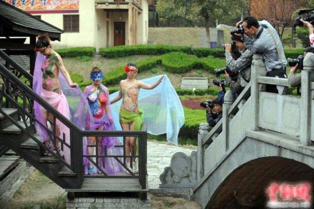 Chinese body art