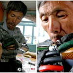 Chinese Man Builds Himself Bionic Hands from scrap metal