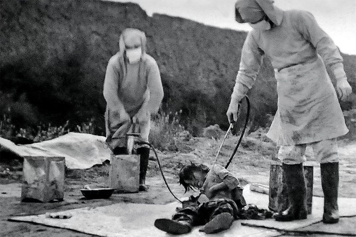 images of the Japanese experiment unit 731 in China