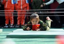 Chinese kids army
