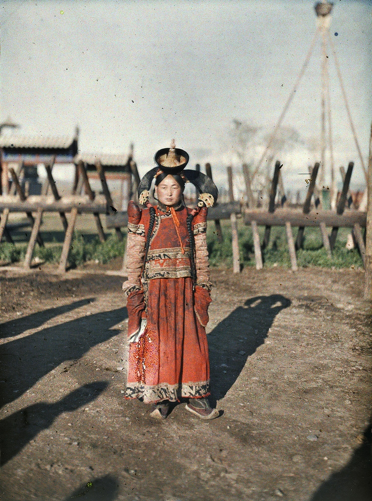 old pictures of Mongolia