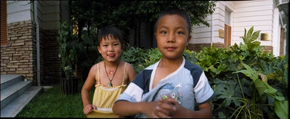 Chinese street children