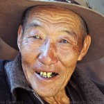 Heqing of the Bai people of Yunnan Dali - Chinese old man