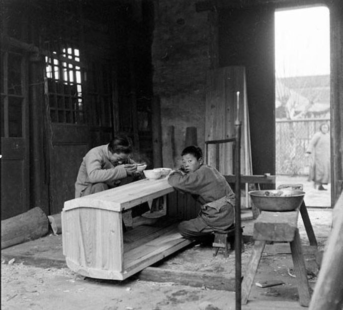 funeral parlor in China